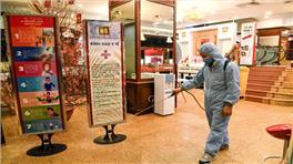 [Báo Vietnamnet.vn] Bảo Tín Minh Châu đẩy mạnh các biện pháp phòng dịch ở cửa hàng