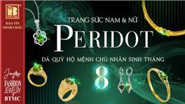 Đá Peridot là gì, ý nghĩa phong thủy của đá Peridot, đá Peridot hợp mệnh gì ?